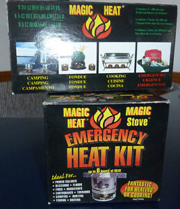 Magic Heat Emergency Camping stoves/fuel