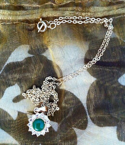 Fantasy Jade, Diamond and Gold Necklace
