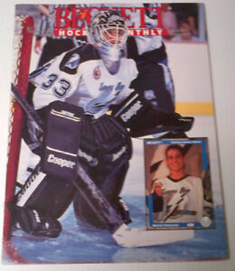 Hockey Beckett price guide from early 90's