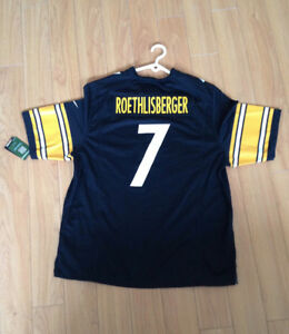 Gilet Officiel NFL - Steelers de Pittsburgh Ben Roethlisberger