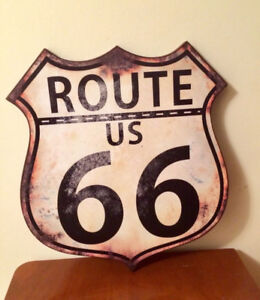 "⭐️NEUF Affiche ROUTE 66 17""x16"""