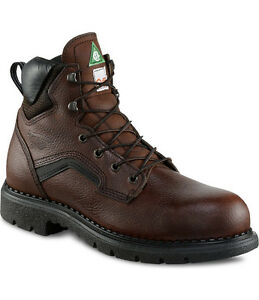 RED WING SHOES SAFETY BOOTS STYLE 3526 SIZE 11.5 D BRAND NEW
