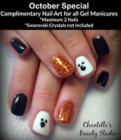 October Manicure Special - Certified Esthetician & Eyelash Tech