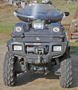 ATV POLARIS 500 HO ,  JUST GREAT