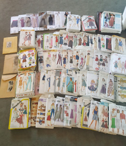 Huge lot of miscellaneous sewing patterns