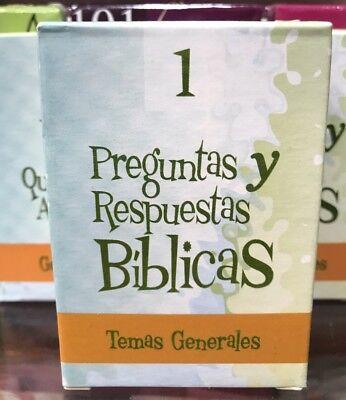 barajas biblicas  Preguntas Y Respuestas De La Biblia bilingue  #1 temas genera