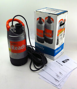 """Pompe Submersible 2"""" Industriel  Flygt Ready 8 90GPM 220-240V"""