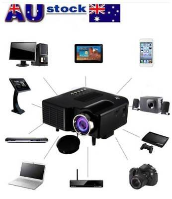 UC28+ Mini Portable Led Lcd Projector Proyector With HDMI VGA AV USB SD Slot