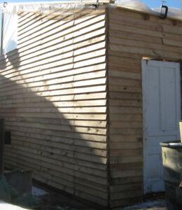 #1 skids, pallets, unique sheds