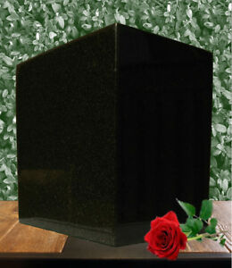 Brand New Real Granite funeral urn/statue Many Colours Available
