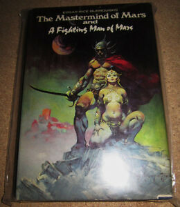 "2 Burrough's ""Barsoom"" Adventures in 1 HC FRAZETTA COVER!"