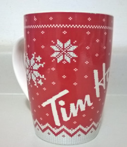 Tim Hortons Christmas Sweater Mug Limited Edition Coffee Cup