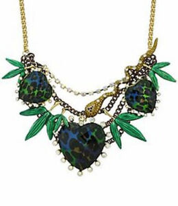 BRAND NEW Betsey Johnson Asian Jungle Necklace + Leopard Earring Kitchener / Waterloo Kitchener Area image 3