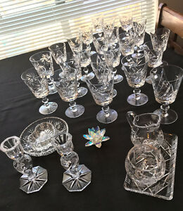 Beautiful Pinwheel Crystal - Large sets available