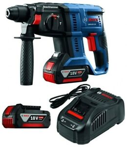 Bosch 18-Volt 3/4 inch SDS-plus Rotary Hammer Kit - 2 batteries