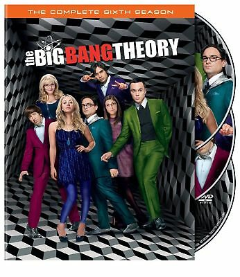 The Big Bang Theory   Complete 6Th Sixth Season 6 Six   Brand New 3 Disc Dvd Set