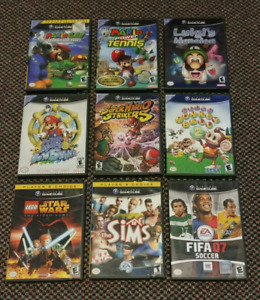Great GameCube/N64/Nes games for sale/trade!!!