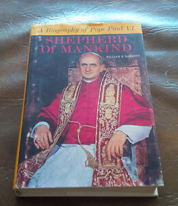 Book: A Biography of Pope Paul VI, Shepherd of Mankind Kitchener / Waterloo Kitchener Area image 1