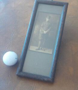 Small Framed Vintage Photo - Man In Uniform Kitchener / Waterloo Kitchener Area image 1