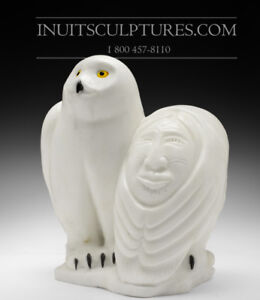 Buy Inuit Art Sculptures / Carvings Montreal Area