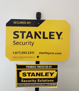 A Sign of the Times.  #stanleysecurity