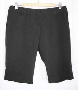 Women's Black Dress Shorts - Brand New!