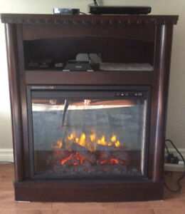 Electric Fireplace in excellent condition!