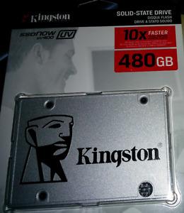 "Kingston SSDNow UV400 2.5"" 480GB SATA III TLC"