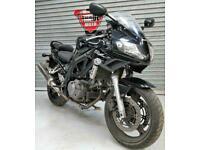 2011 11 SUZUKI SV 650 L1 BLACK HPI CLEAR TRADE SALE 20K NEW MOT SV650 MINI TWIN