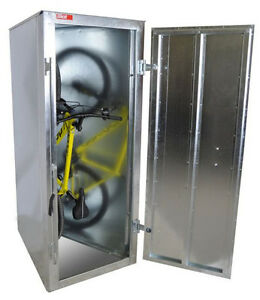 BIKE LOCKERS. SECURE BICYCLE STORAGE UNITS. STOP BIKE THEFT
