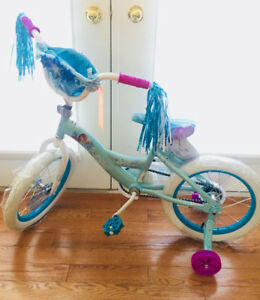 "16"" bike Disney  Frozen Elsa & Anna brand new"