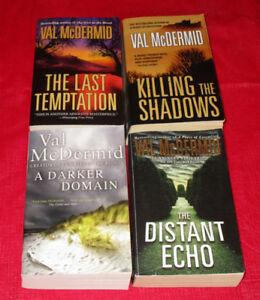 4x Val McDermid paperback novels