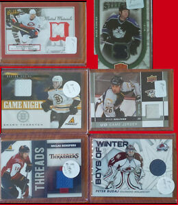 NHL JERSEY Hockey Cards for Sale!