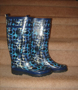 Rain and Winter Boots - size 9, 9.5