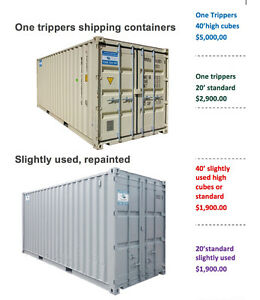 new and slightly used shipping containers Kawartha Lakes Peterborough Area image 1