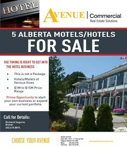 Motel/Hotels for Sale - INVESTMENT OPPORTUNITY