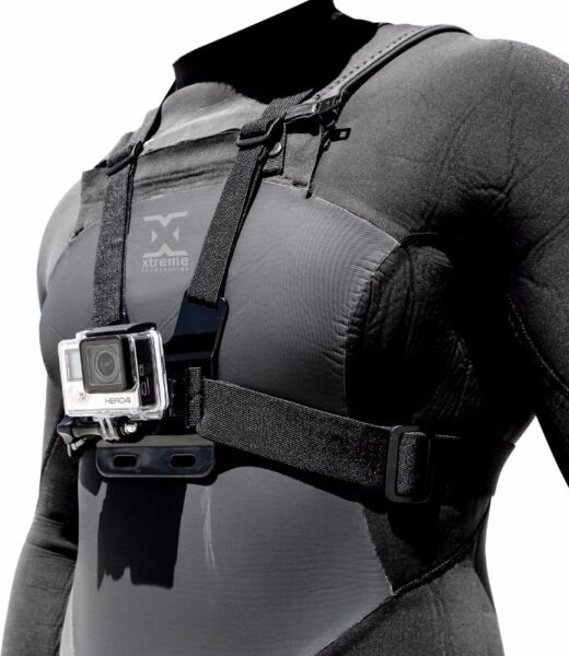 Chest mount for your GoPro Camera