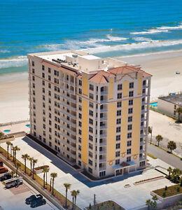 Daytona beach Condo a louer Building  Oceanfront **
