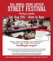 10th Annual Orono Antique Street Festival