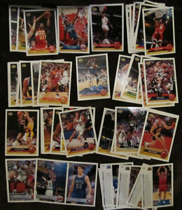 1992-93 Upper Deck McDonald's Basketball 50 Card Set