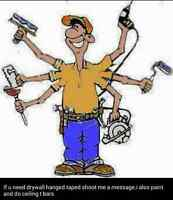 drywall boarder taper ,painter