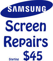 Samsung S3, S4, S5 Screen Repair Starting $45