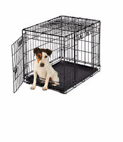 WANTED - Black metal Pet Crate - 2 Door