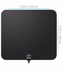 Fosman TV Antenna - HDTV channels free over the air