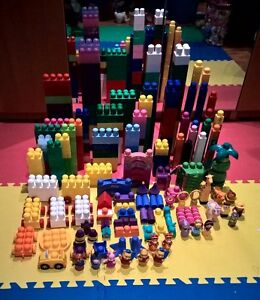 LARGE LOT - Mega Bloks First Builders (400+ pieces/morceaux) Gatineau Ottawa / Gatineau Area image 1