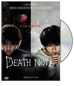 Death Note DVD-Region Coded For Asia-Great condition-$5 +