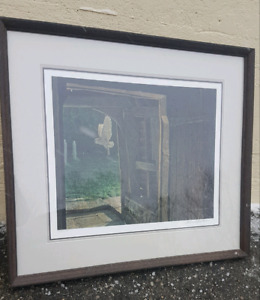 Robert Bateman Owl in the Church Yard Numbered Print