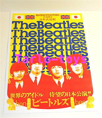THE BEATLES - Tokyo, Japan 30 june 1966  - concert poster