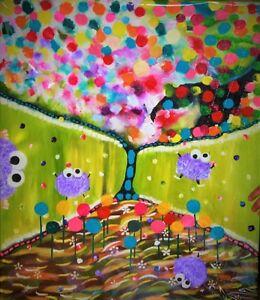 Peinture Tableau Painting Tableaux Children Enfants by MILLA! West Island Greater Montréal image 2