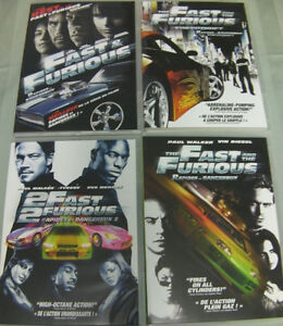 DVD Fast & Furious - 4 Movie Collection